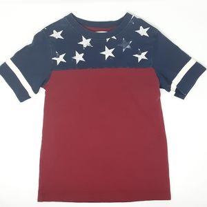 H&M | USA Stars and Stripes T-Shirt